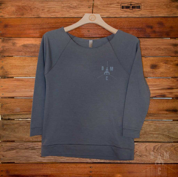 Detroit Motion Co. Women's Lightweight Terry Sweatshirt