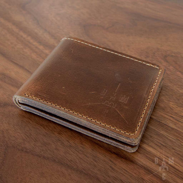 Detroit Motion Co. Handmade Leather Wallet -- Old 67 Brand