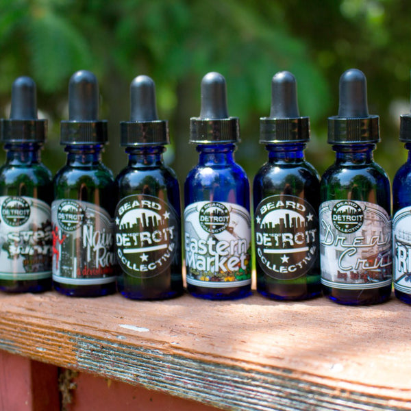 Detroit Beard Collective - Beard Elixir - Leave-In Beard Conditioning Oil