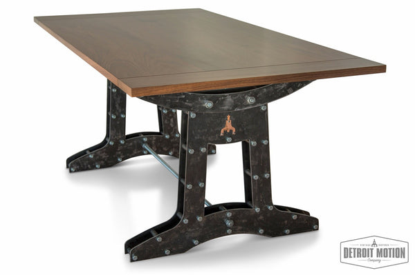 """Drop-Hammer"" Industrial Dining/Conference Table"