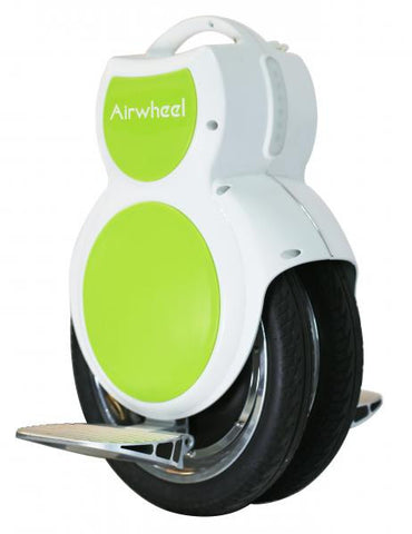 Q6 170wh Unicycle White and Green