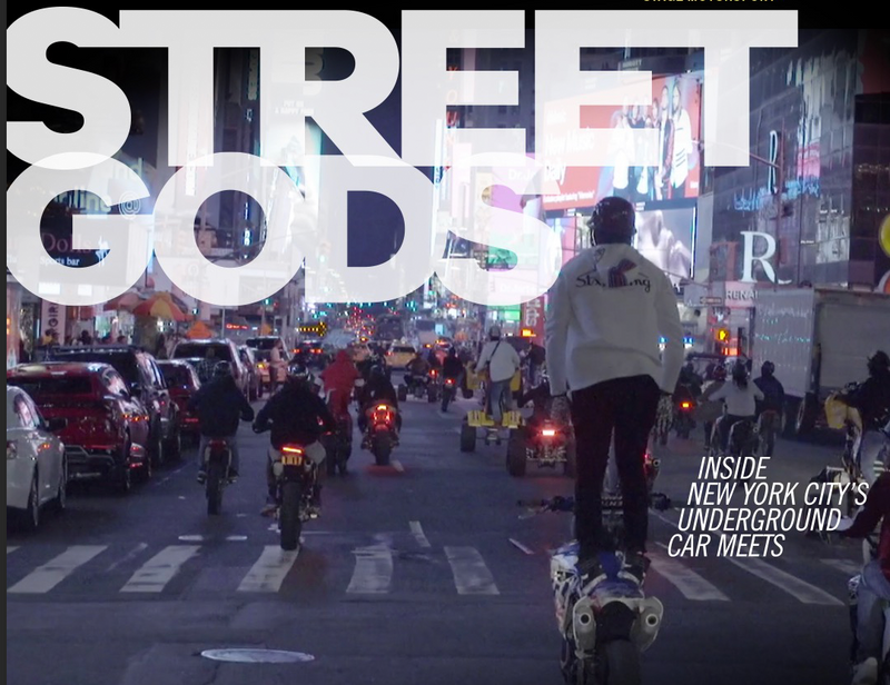 Vice Street Gods video features NYC dirt bike life & rideouts