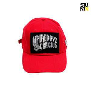 MPIREBOYZ® Interstellar Dad Hat Red