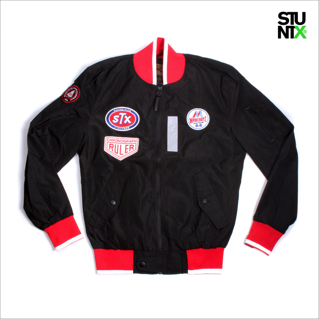 STUNTX® TEAM JACKET BLACK
