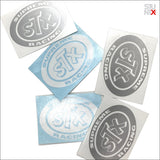 STUNTX® STX STICKER (GREY OR WHITE)