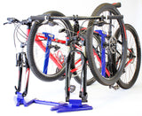 Horizon Blue Double Bike Rack