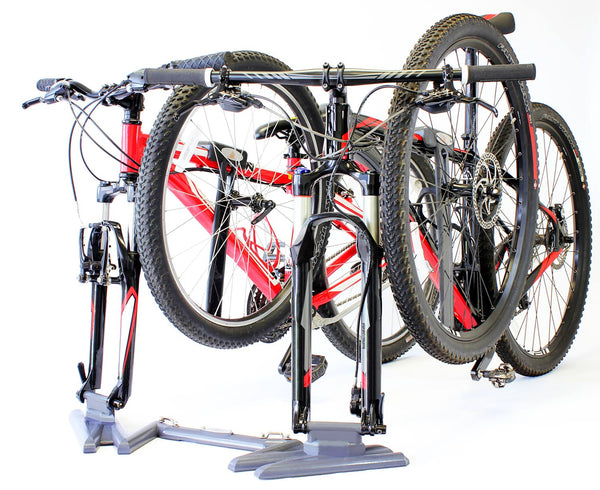 Carbon Gray Double Bike Rack