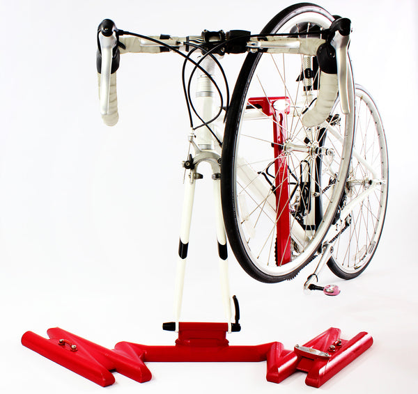Stop-Light Red Single Bike Rack