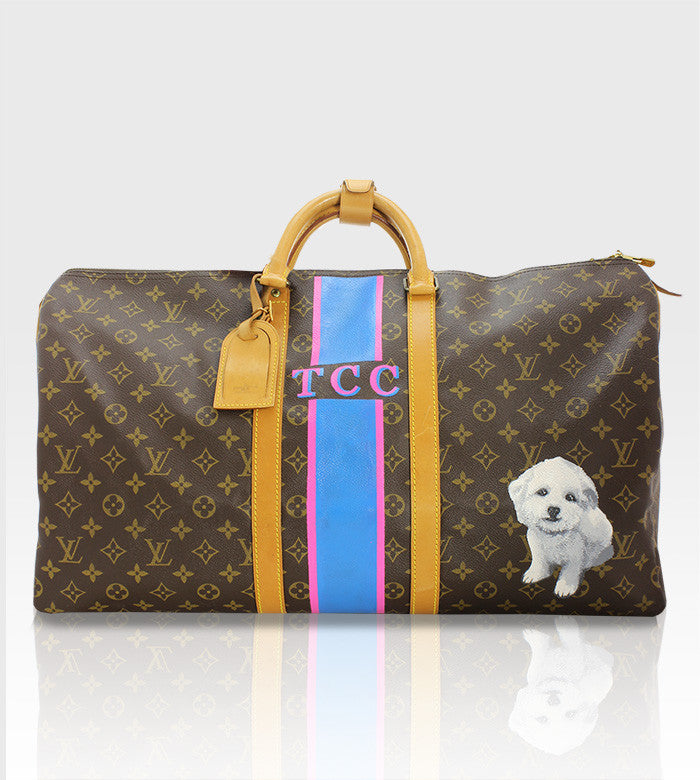 Louis Vuitton Keepall / Custom Art