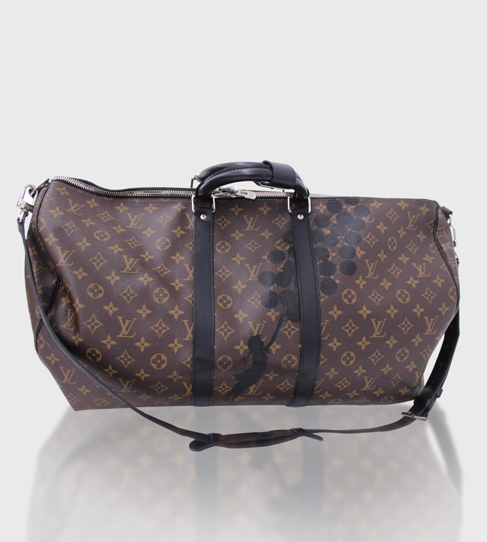 Louis Vuitton Bandouliere 55 Keepall / Custom Art