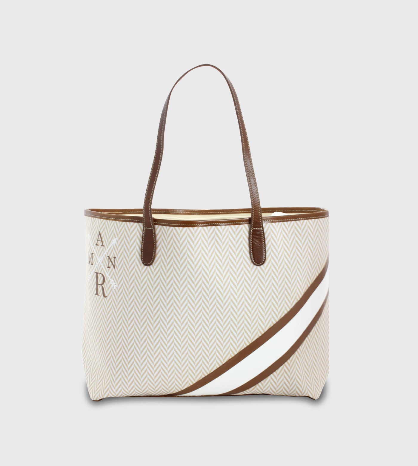 Barrington St. Anne Tote / Lettering + Stripes + Symbol