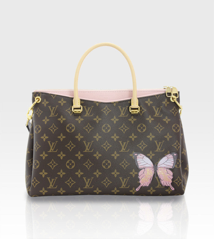 Louis Vuitton Pallas Bag / Custom Art