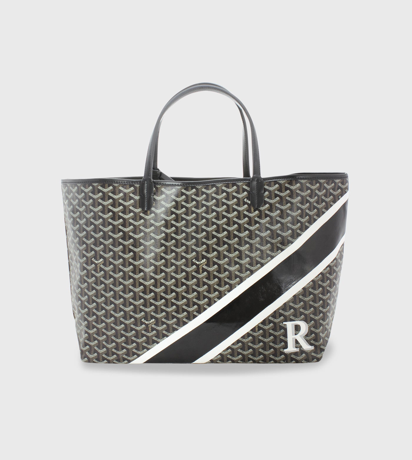 Goyard St. Louis / Lettering + Stripes
