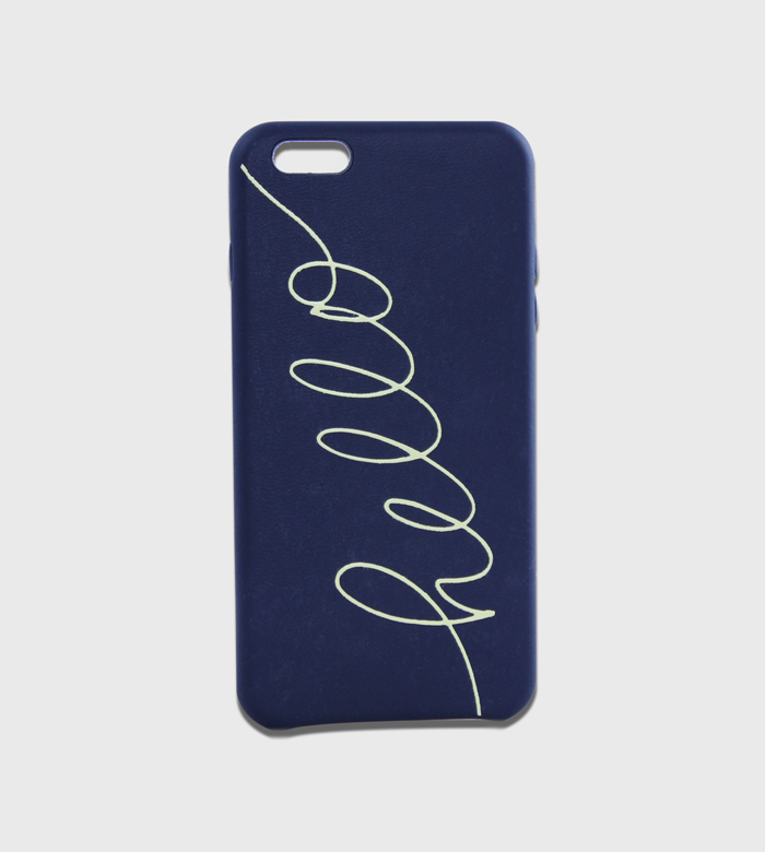 iPhone Case / One Color Lettering