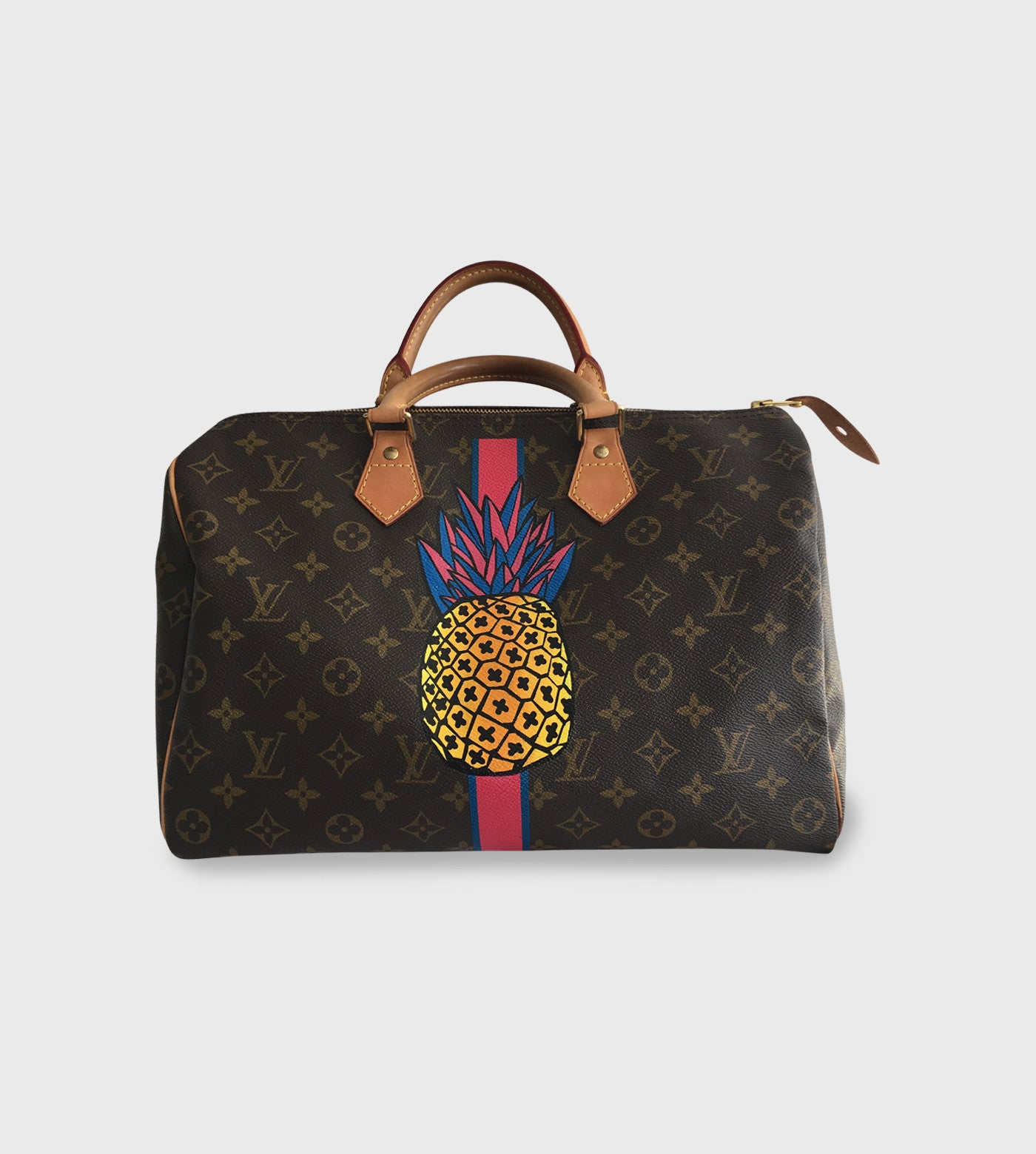 Louis Vuitton Speedy / Custom Art