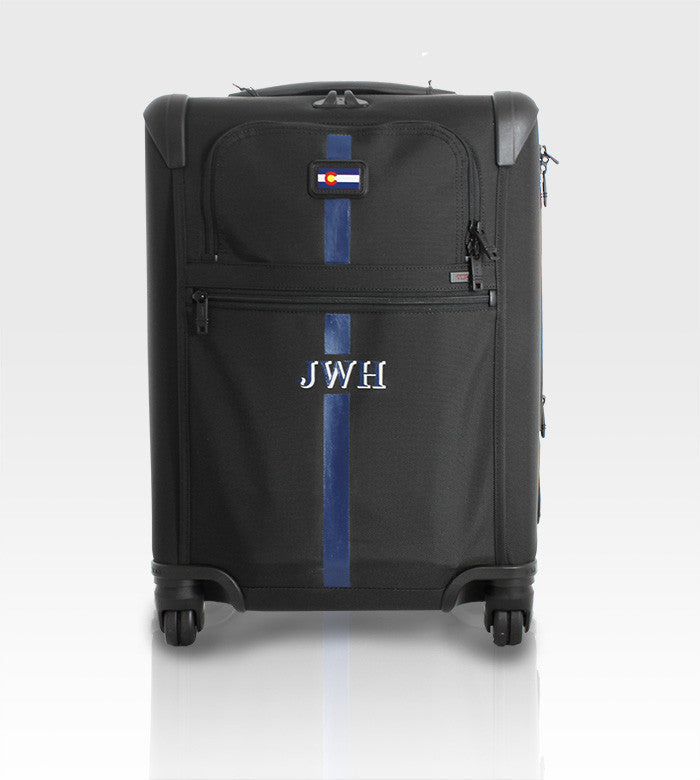 Tumi Expandable Luggage / Custom Art