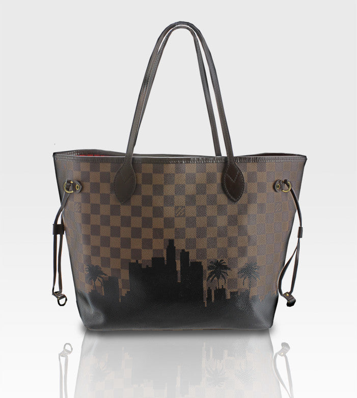 Louis Vuitton Neverfull / LA Skyline