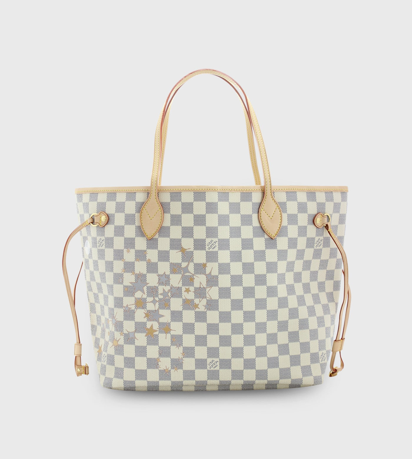 Louis Vuitton Neverfull/ Custom Art