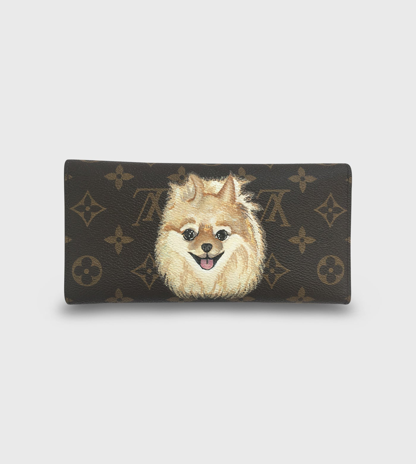 Louis Vuitton Sarah Wallet / Custom Art
