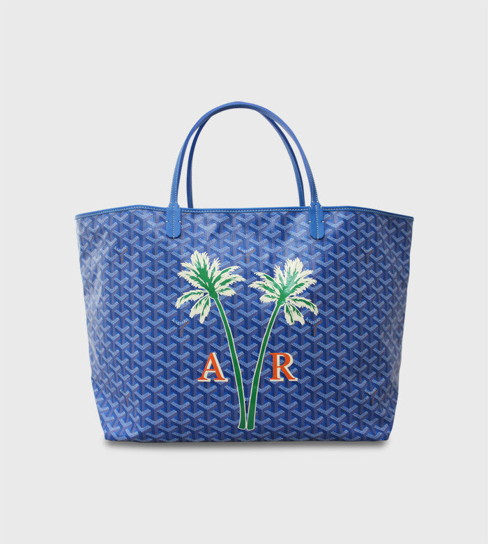 Goyard St. Louis Tote / Custom Art