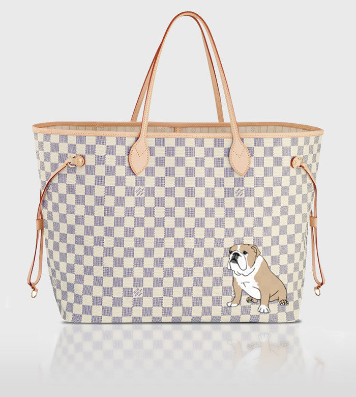 Louis Vuitton Neverfull / Custom Art