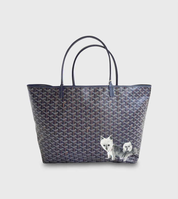 Goyard St. Louis / Custom Art