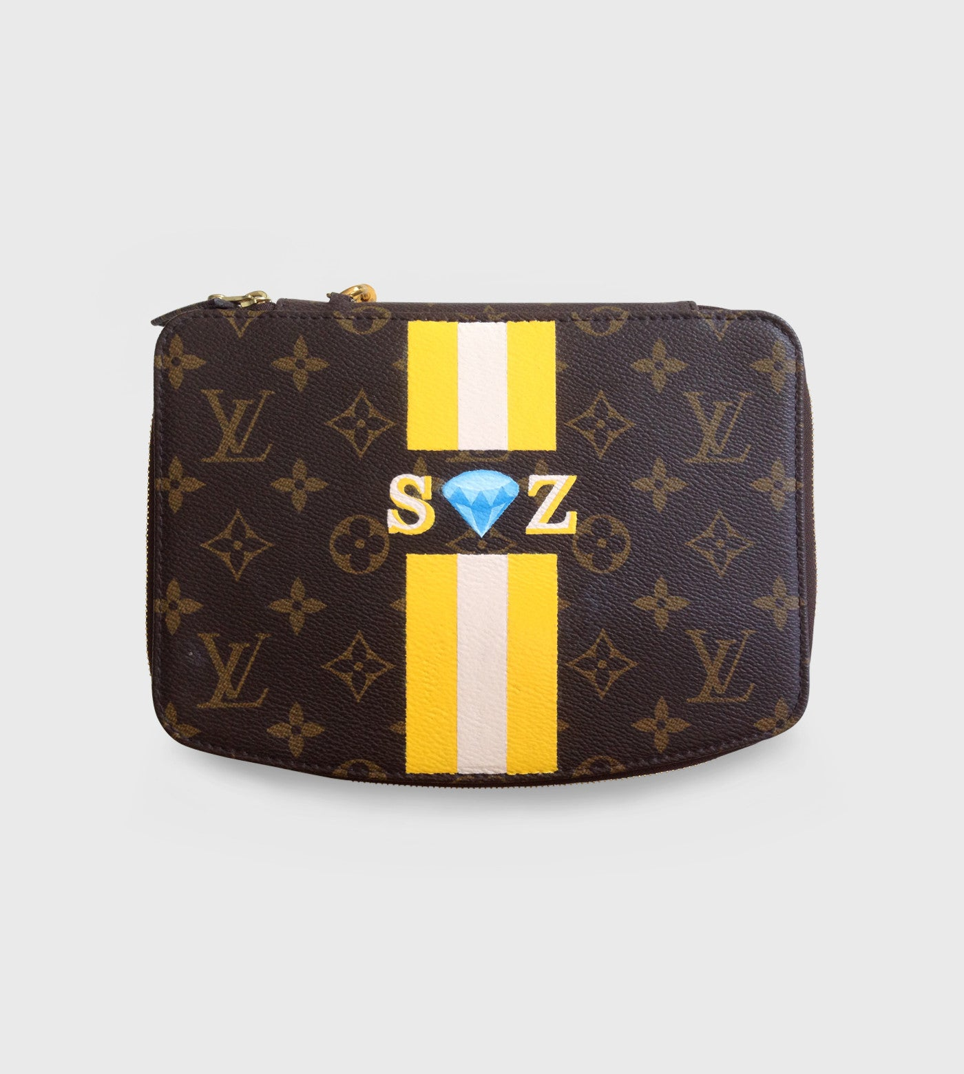 Louis Vuitton Monte Carlo Jewelry Case / Custom Art