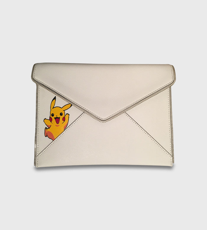 Rebecca Minkoff Clutch / Pokemon Custom Art