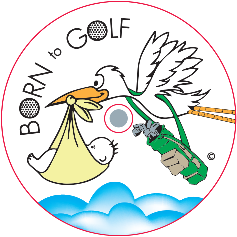 CaddyCap - Born to Golf - Golfing Gifts