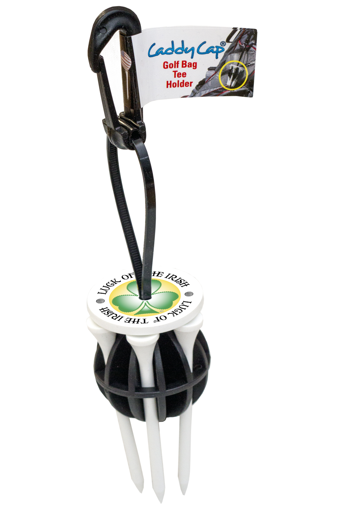 CaddyCap - Luck of the Irish Golf Tee Holder
