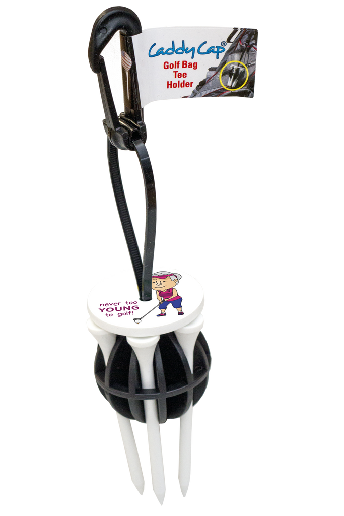 CaddyCap - Never too Young to Golf Female Golf Bag Accessories