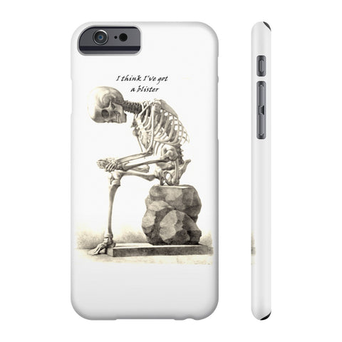 All US Phone cases with Skeleton Art Print
