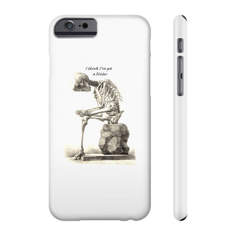 Slim Iphone 6/6s with Skeleton Art Print