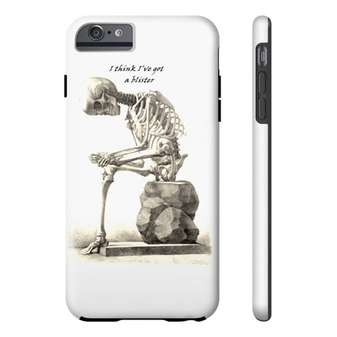 Tough Iphone 6/6s Plus with Skeleton Art Print