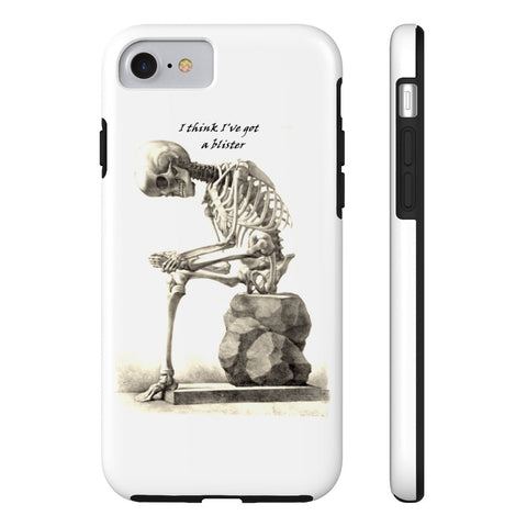 Tough iPhone 7 with Skeleton Art Print