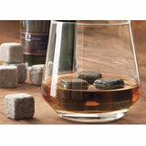 9 Piece Set of Cold Chilling Sipping Stones With Bag
