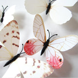 Super Deal wall sticker Wall Stickers Living Home Decor For Kids Rooms 3D Butterfly Wall Decals XT