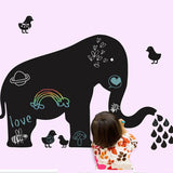 Super Deal Erasable blackboard Elephant Room Decor Removable Wall Stickers Decal XT