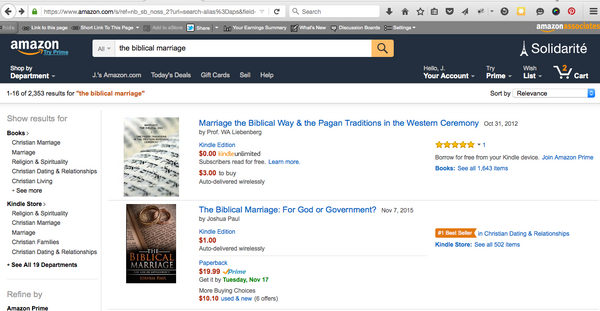 The Biblical Marriage: For God or Government? - The Biblical Marriage.com - 3