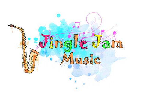 Jingle jam music logo