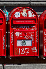 Post Box Red United Kingdom London