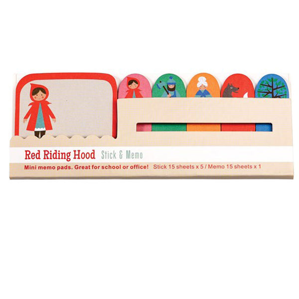 Rex London Red Riding Hood Mini Memo Pads