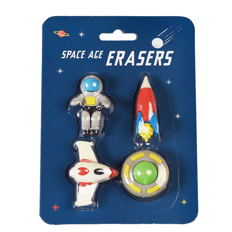 Rex London Space Age Erasers