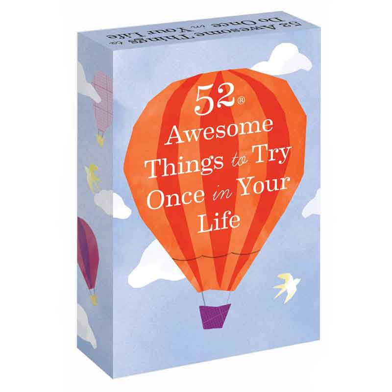 52 Awesome Things To Try Once A Year