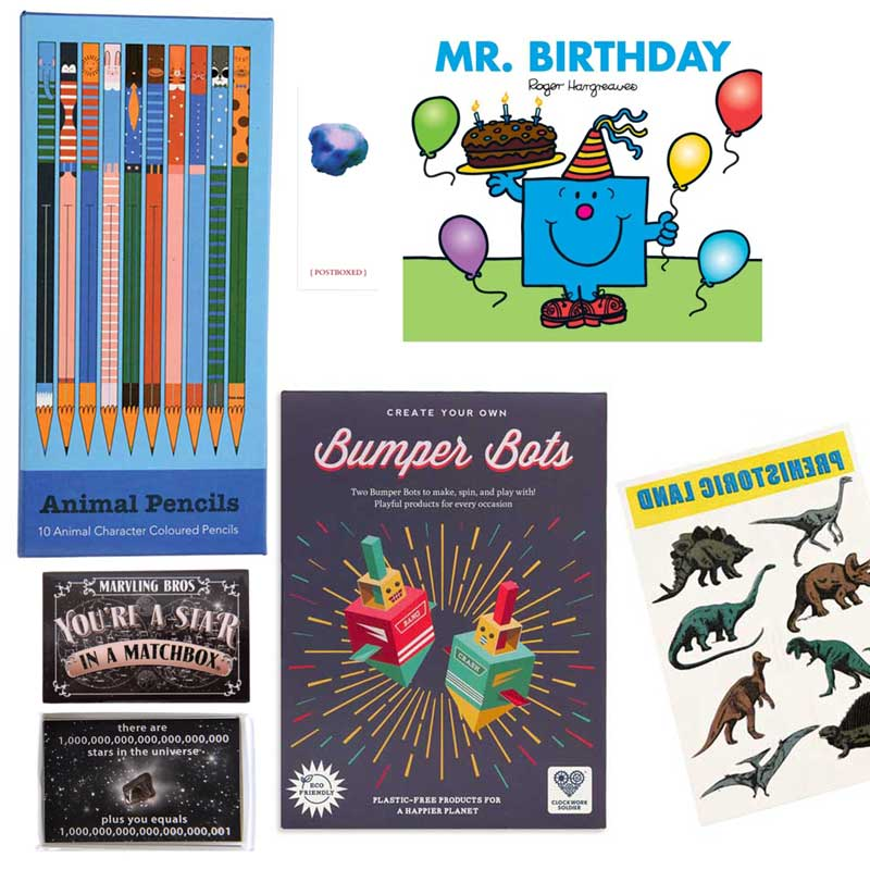 Postboxed Gift Boxes Boy's Birthday Box
