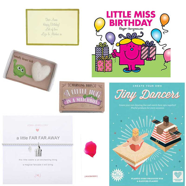 Postboxed Gift Boxes Girl's Birthday Box