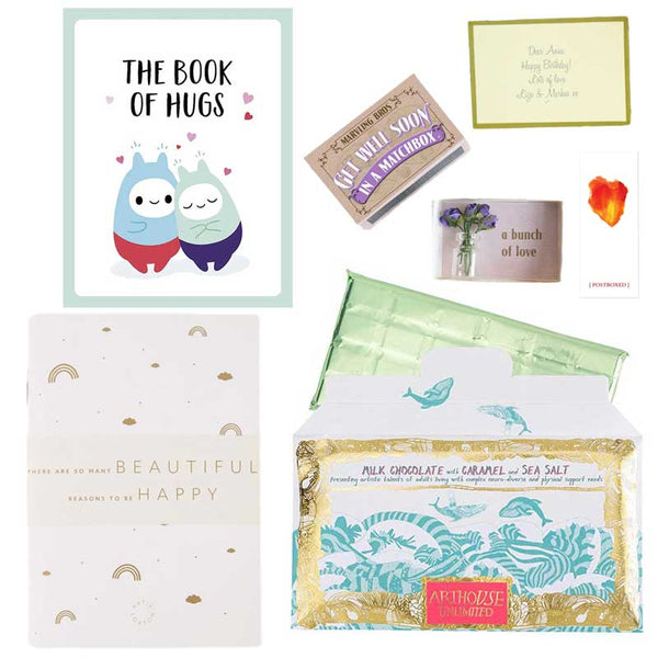 Postboxed Gift Boxes Get Well Soon Gift Box