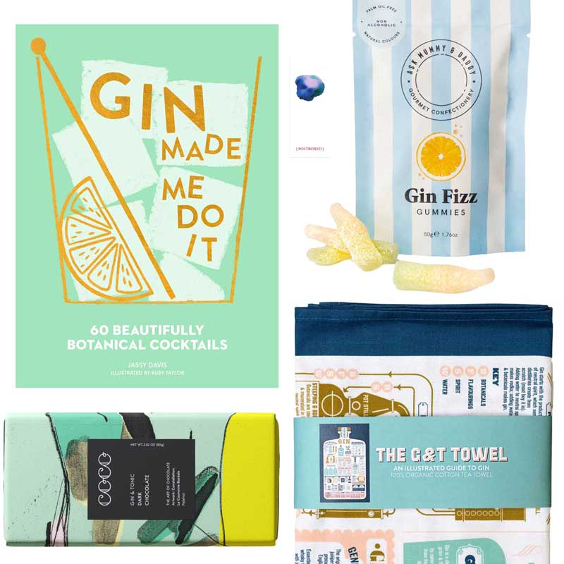 Postboxed Gift Boxes Gin Box