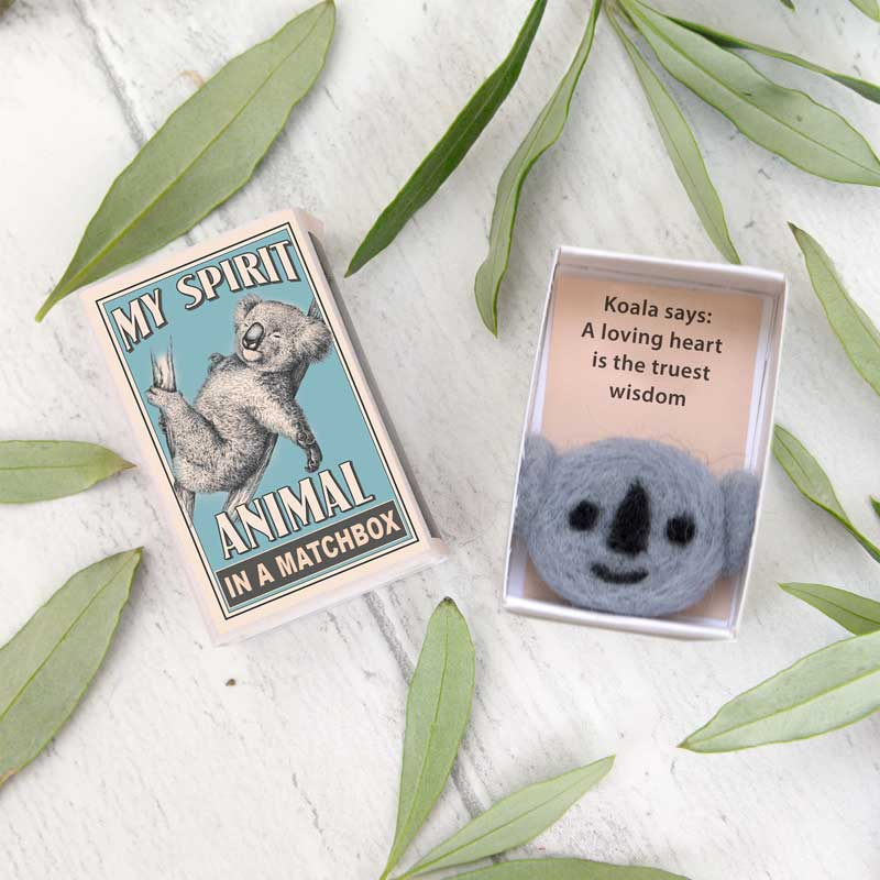Marvling Bros Koala Spirit Animals In A Matchbox