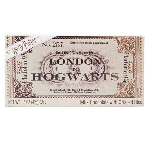 Harry Potter Hogwarts Express Ticket Chocolate